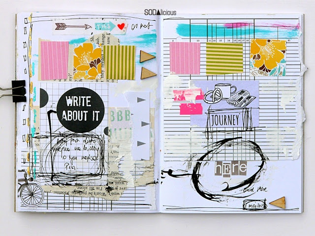 art journal pages made by Mumka ► SODAlicious DT