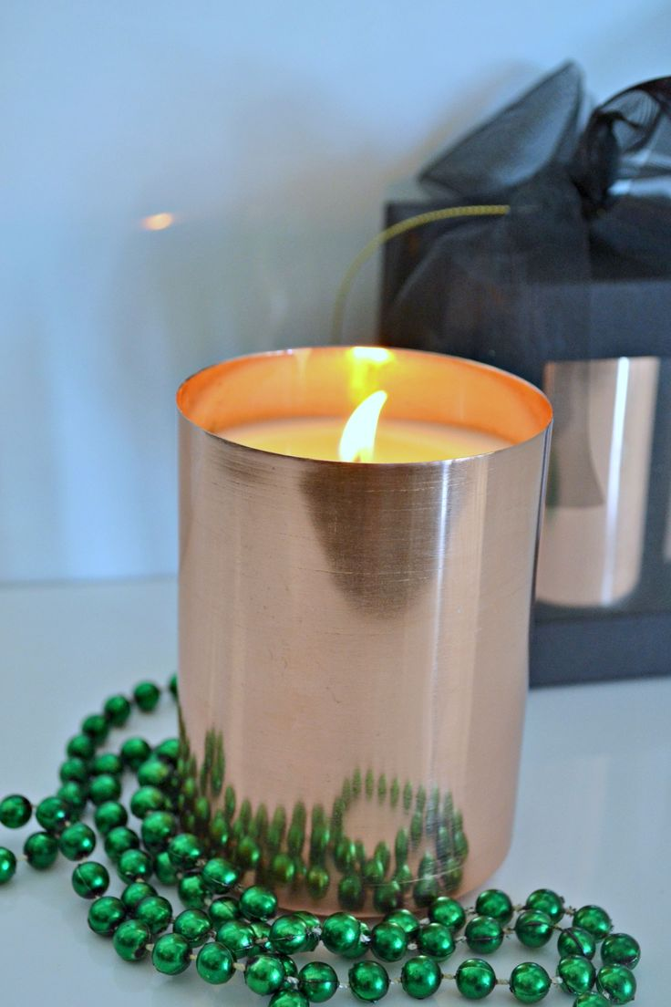 #copper #soycandle #handmade