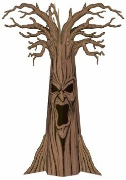 Haunted Tree Decoration
