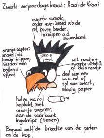 Wat grappig, mijn Raai de Kraai verjaardagskalender op PInterest bij juf Bianca - JufBianca.nl