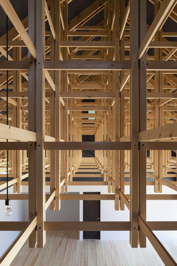 Fachwerk auf japanisch zwei sporthallen in tokio