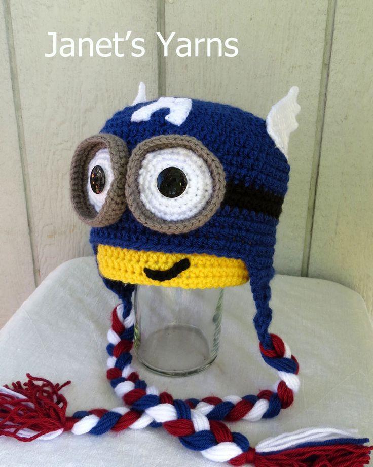 My Captain America Minion hat 617 best
