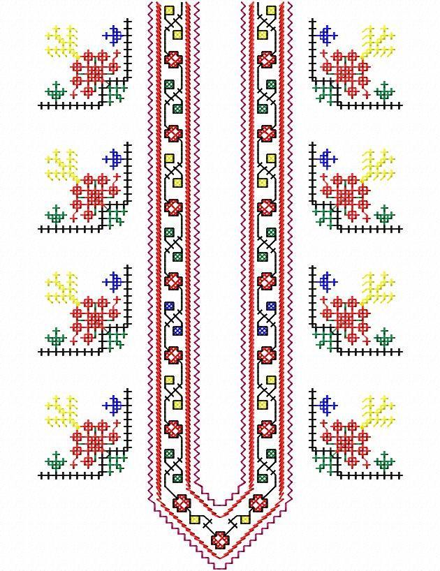 V00043 stitches: 18670; size: 173 x 277 mm; colors: 4