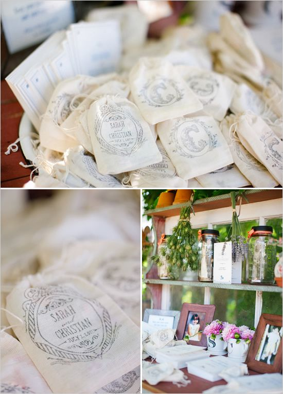 wedding favors using our free printables!