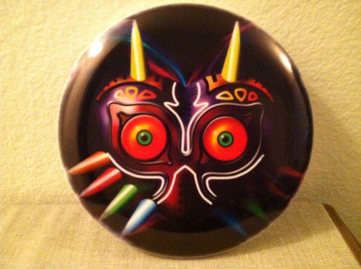 Majora's Mask Disc Golf Putter.