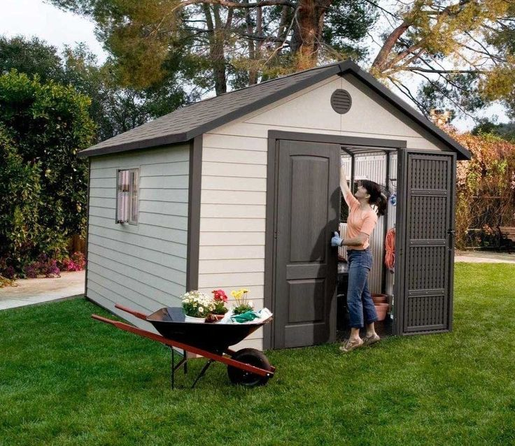 lifetime 11ft wide plastic shed range