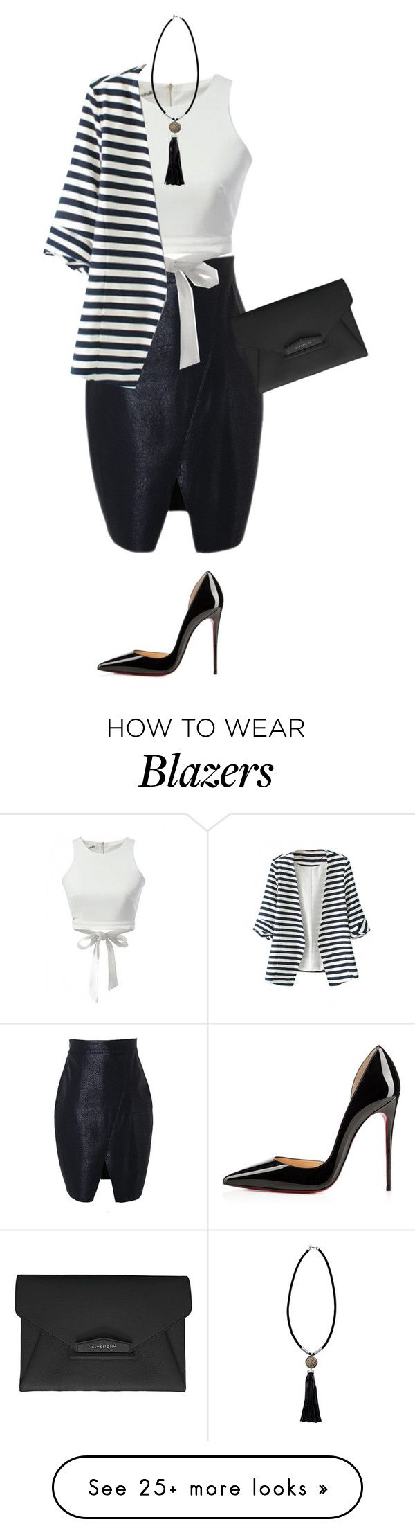 """""""interview"""" by lovemelikeyourlast on Polyvore featuring Givenchy, French Connection, Christian Louboutin, women's clothing, women's fashion, women, female, woman, misses and juniors"""