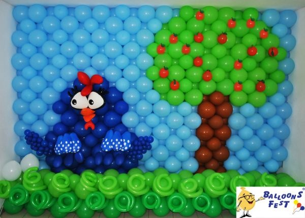 Balões Galinha Pintadinha - Ballons Fest