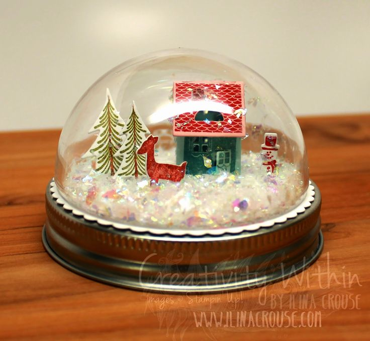 Creativity Within : Snow Globe and Ornaments kits available