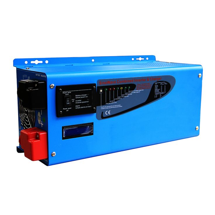 12v 230vac power inverter pure sine wave 2000w toroidal transformer off grid solar inverter with LCD built in battery charger #Affiliate