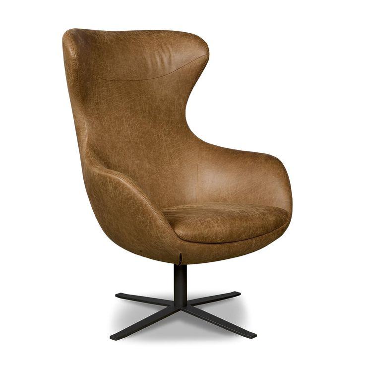 De i-Sofa Elvi fauteuil straalt één en al stijl en elegantie uit. Een toffe wisselwerking tussen de lederen bekleding en de stoere, metalen kruisvoet zorgt ervoor dat jij meteen in de Elvi wil ploffen. Lekker ontspannen!