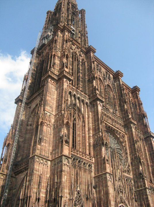 Strasbourg Cathedral, Alsace, France | The College Tourist