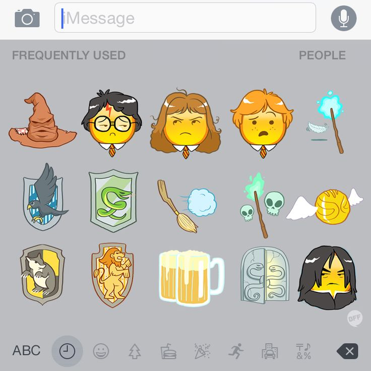 give us some Harry Potter emojis already