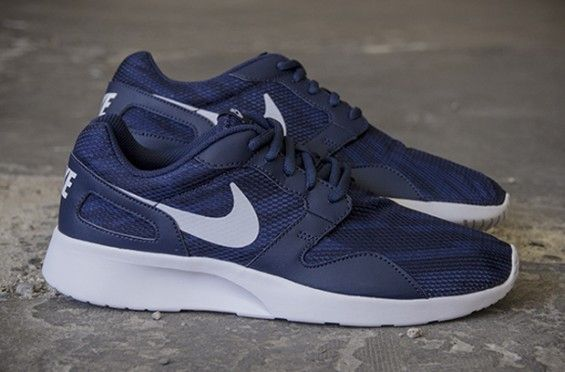 ... Shoes Outlet Black White Nike Kaishi Print – Midnight Navy / Obsidian    Kicks   Pinterest   Nike and Navy ...