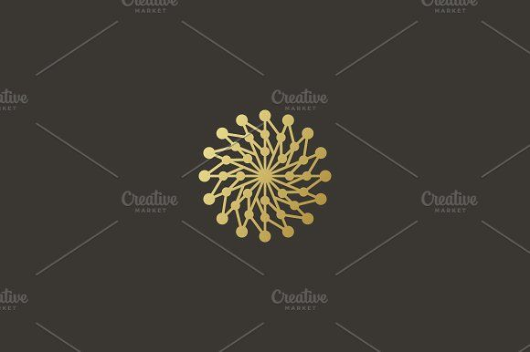 Circle science medicine logo by Bureau on @creativemarket