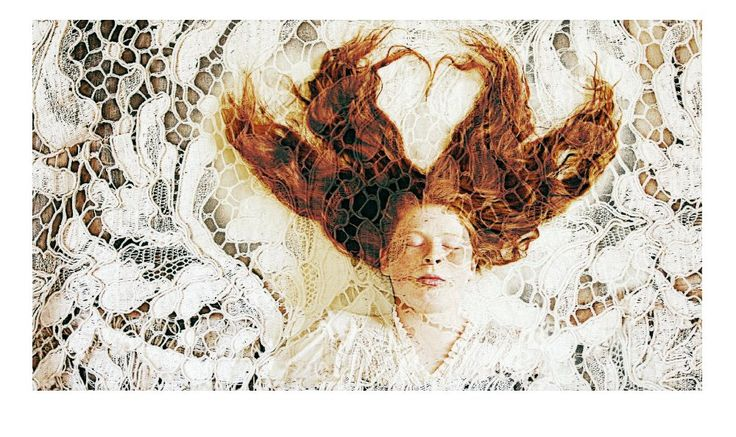 """Diastole (Mums wedding dress)"" 44cm x 80cm, 20 of 20 prints available $150.00 AUD + p&h by Karyn Fearnside digitally manipulated photographs printed on cotton rag contact kferny@hotmail.com"