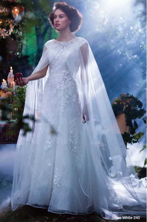 Disney fairy tale wedding dresses snow white and the seven