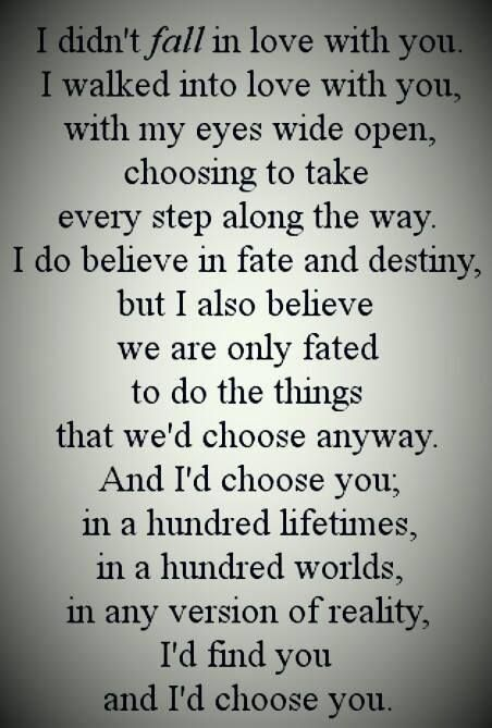 These words describe my journey with the love of my life, My Husband