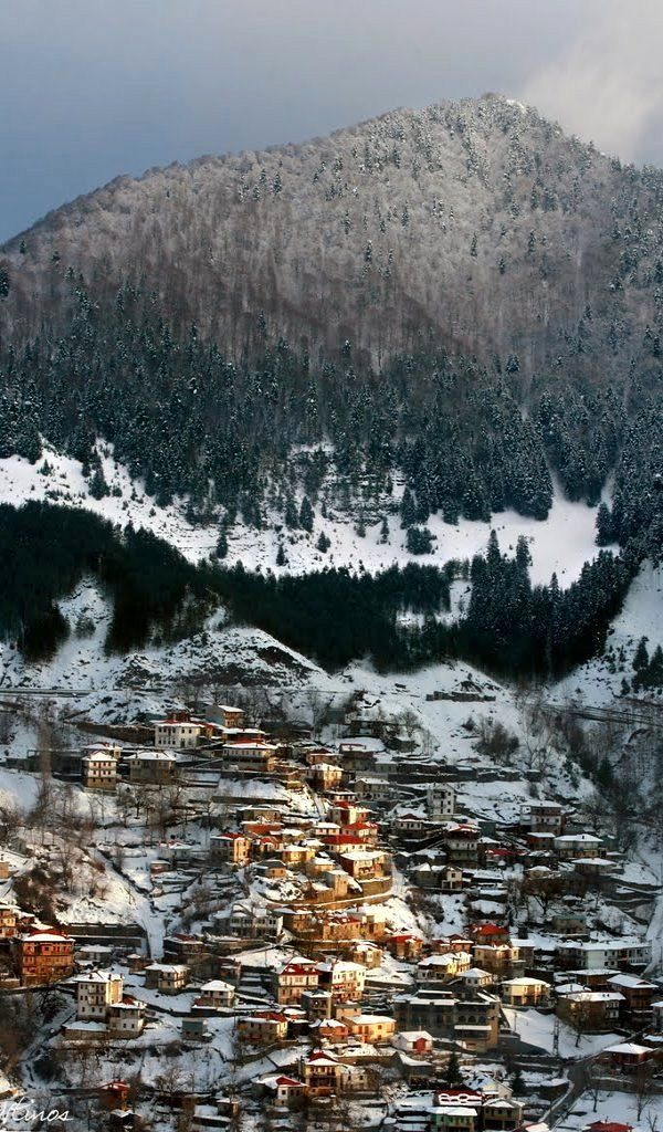 Visit Greece | A mesmerising traditional village that exudes an atmosphere of a bygone era! Metsovo, Epirus