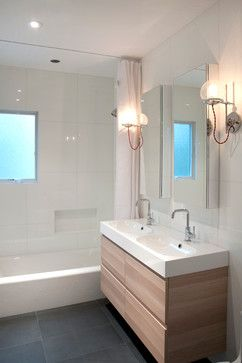 House Renovation - contemporary - Bathroom - New York - nm design house