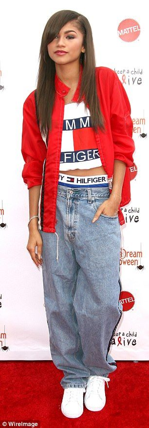 With elastic waistbands on full display, it seems singer Zendaya and model Bella Hadid look to Rihanna for outfit inspiration
