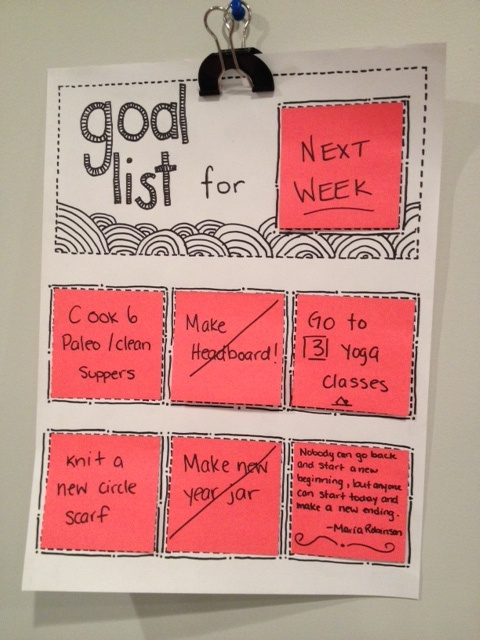 Diy Projects That Ll Get You Motivated Rotating Goal Board Guff