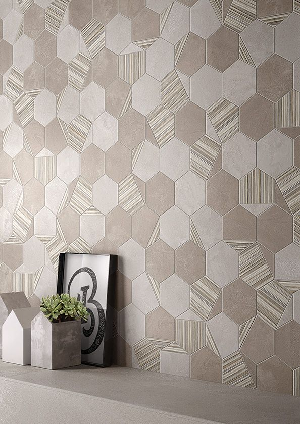 +3 Collection by #viva #emilgroup #tiles #ceramics #floortiles #interiordesign #madeinitaly #architecture #style #papereffect #concreteeffect #pattern #texture