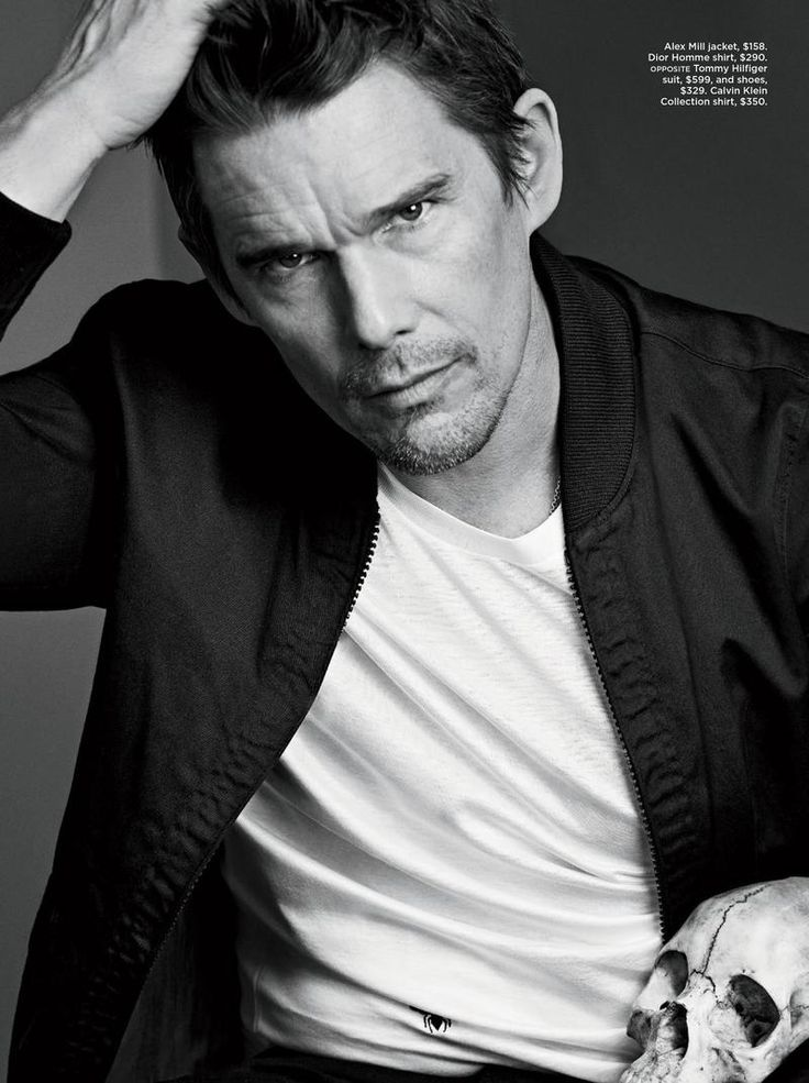 Ethan Hawke Stars in 2015 C For Men Cover Photo Shoot