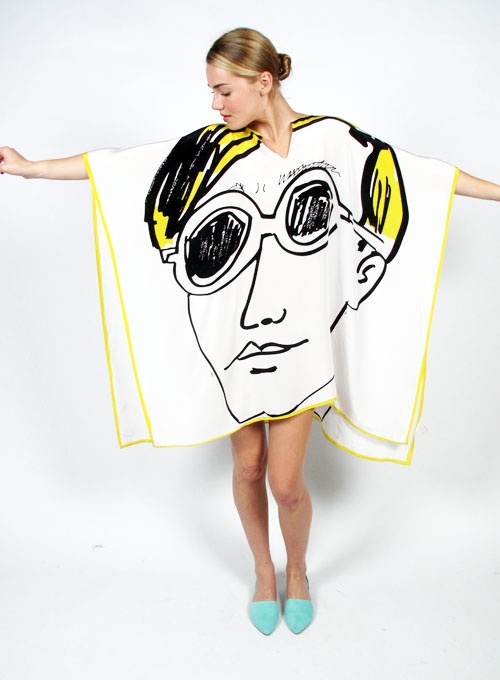 Factory Girl - Issa Andy Warhol Poncho