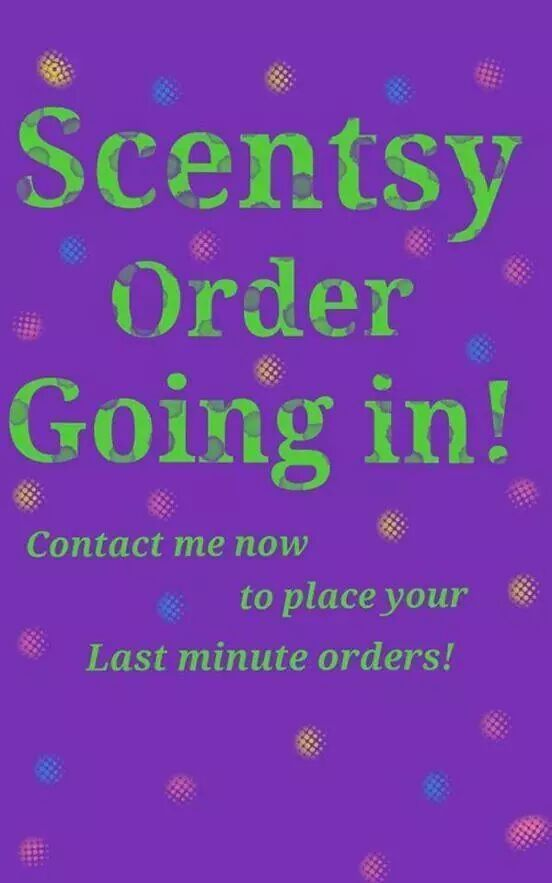 how to place a scentsy consultant order