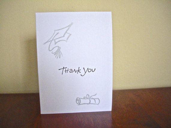Graduation Thank You Cards: Best 25+ Graduation Thank You Cards Ideas On Pinterest