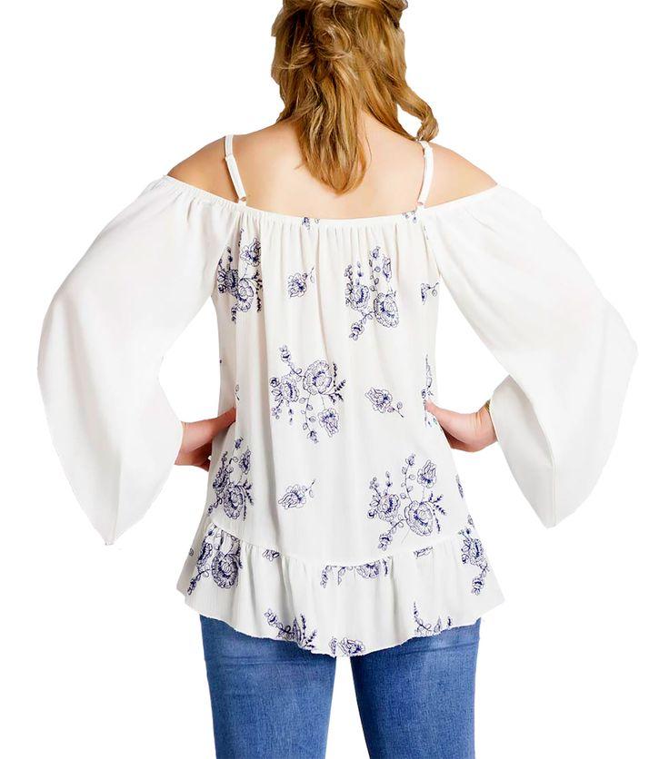 Αέρινη λεύκη πουκαμίσα (πίσω )