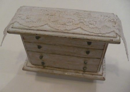 distressed doll house furniture