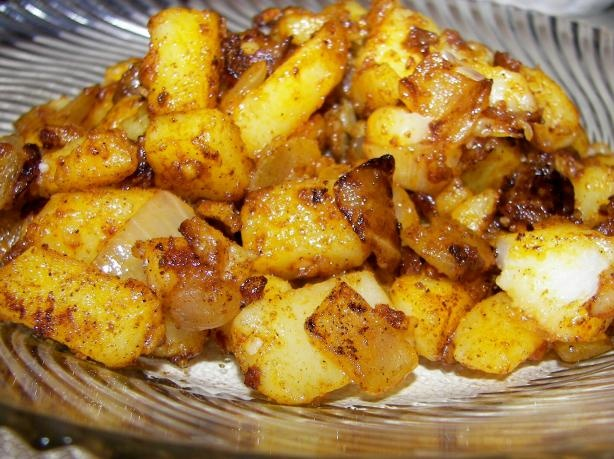 Portuguese Style Sauteed Potatoes from Food.com:   A great way to cook your potatoes! This came from Emeril Lagasse's cookbook, New New Orleans Cooking! Enjoy!