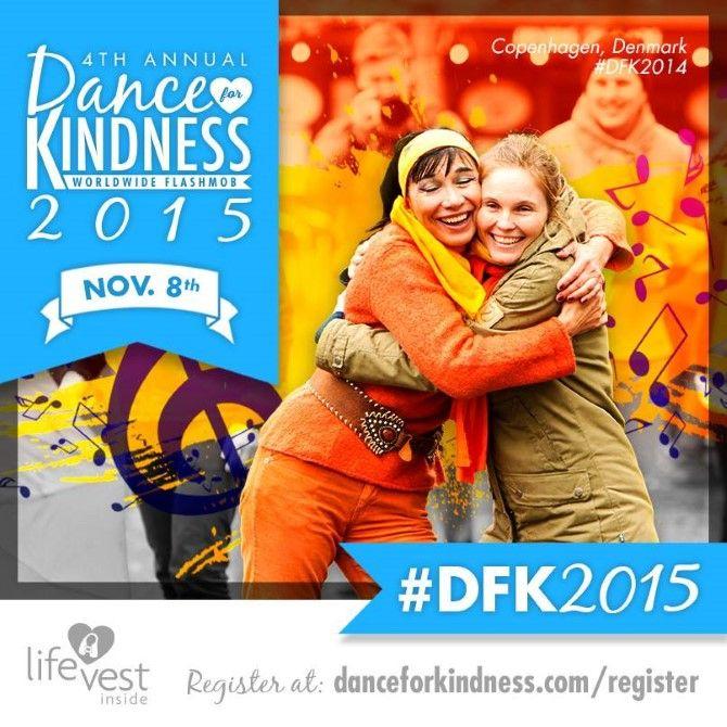 """Dansk Venlighedsdag (DVD) med """"Flash Mob Dans"""""""