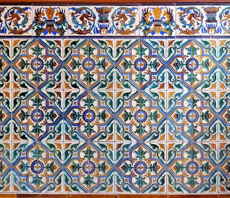 Casa amatller 1901 architect josep puig i cadafalch - Azulejos y baldosas ...