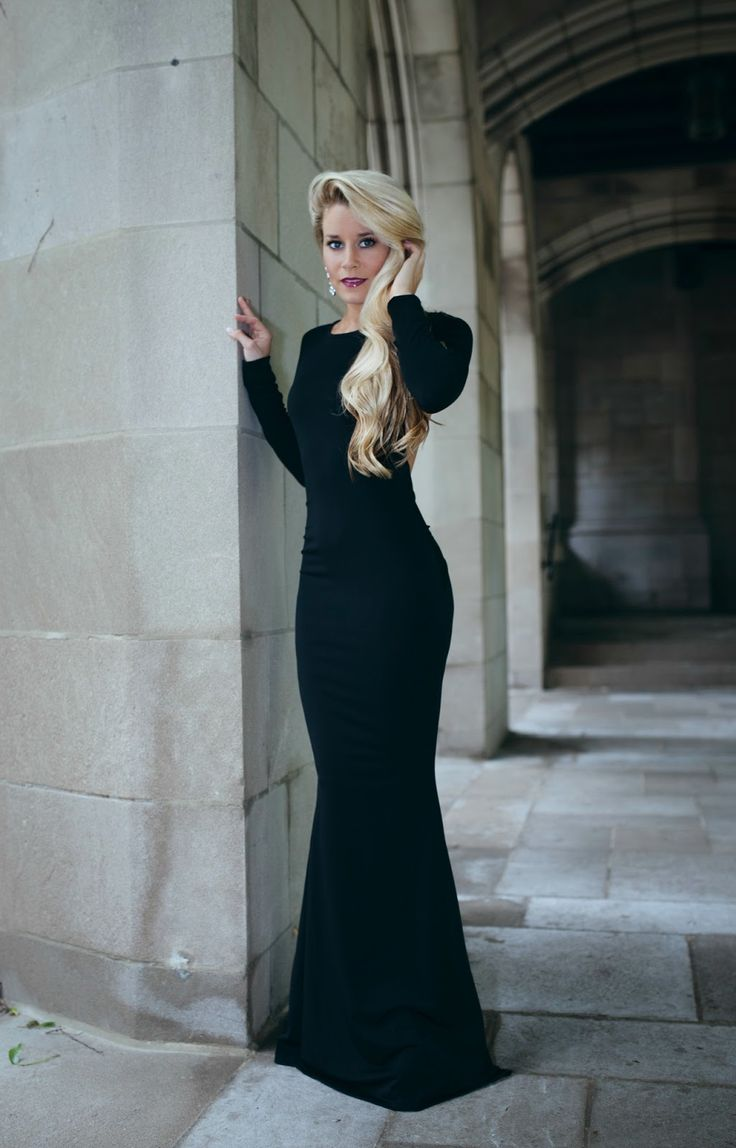 Gala Maxi | Lovely Little Style | OliviaRink.com | Pinterest | Style Black tie and Ties