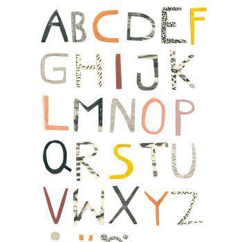 ABC - Poster 50X70 by Klyfta