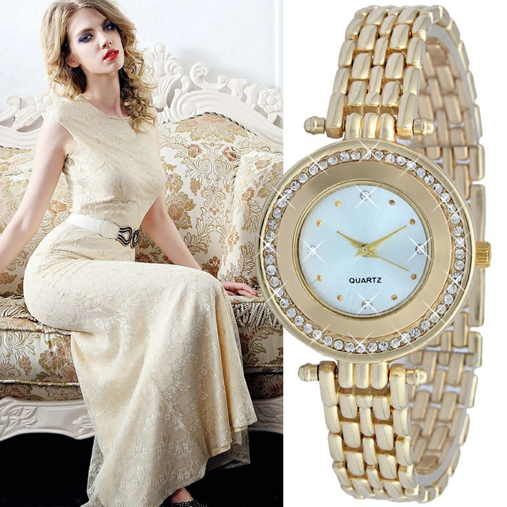 Relogios femininos frete gratis women dress watches luxury gold diamond Christmas gift for girls women female relojes para mujer $16.35