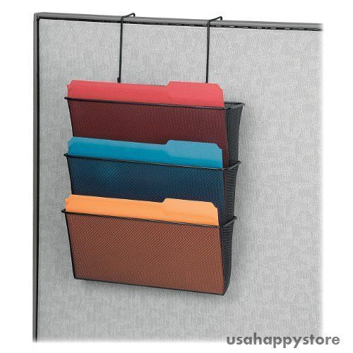 Details About Wall Mount Hanging File Folder Organizer 3