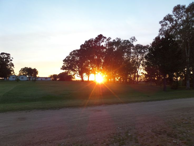 Aparece el sol en La Floresta. - BUENOS DÍAS!!!