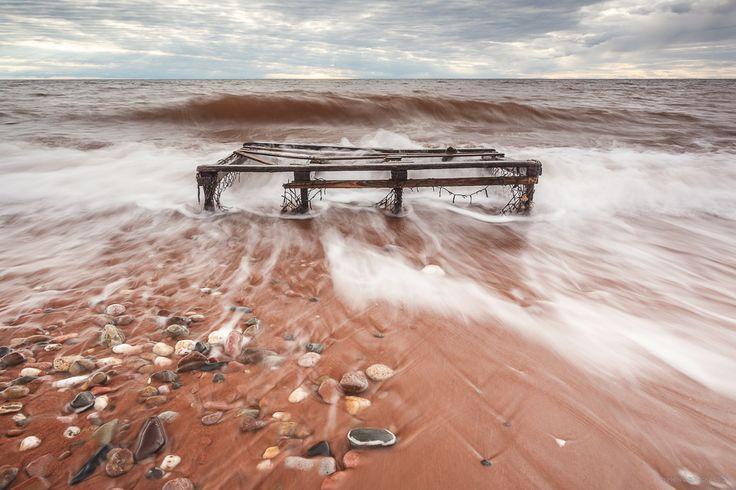 Lobster Trap Wreckage, Prince Edward Island - © Stephen DesRoches