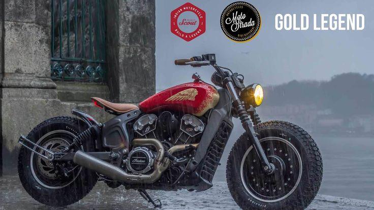 A Motostrada, concessionário daIndian Motorcycles do Porto, preparou uma Scout de grande nível para a primeira competição custom global promovida pelamais antiga marca de motos americana.