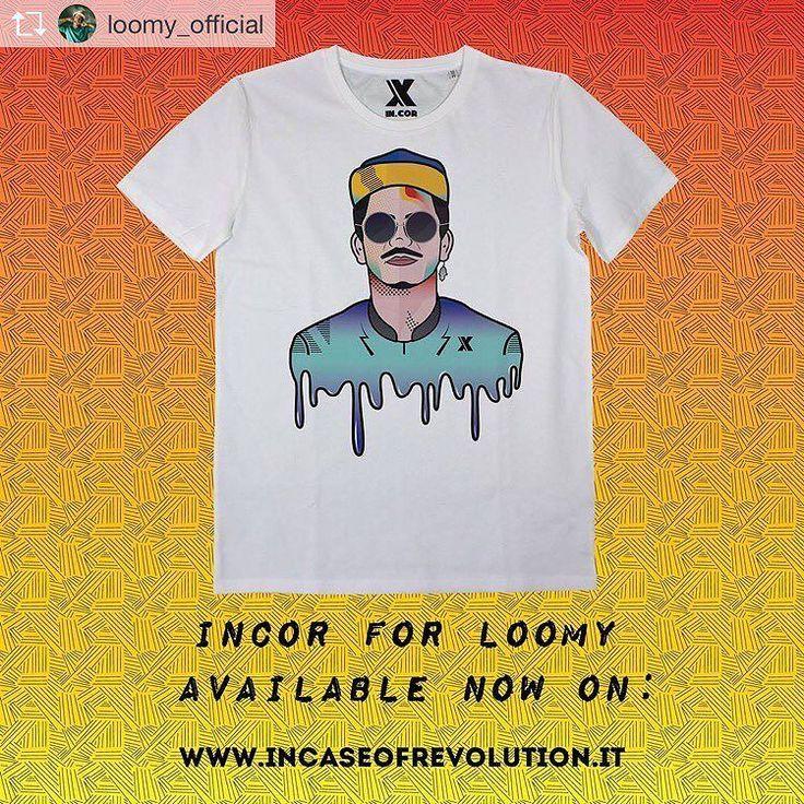 Repost from @loomy_official  Rigaaaz le t-shirt  come promesso sono disponibili  Vi lascio il link : http://ift.tt/2ja6WcE Un grazie enorme ai soci di @incaseofrevolution  grafici e ogni singola persona per aver creato il tutto per me  grandi  #èloooomy #incor #streetwear  #incor #brand #italy #italia #torino #italianbrand #incaseofrevolution #graphic #vsco #model #shooting #vans #photography #new #marchio #streetwear  #incormood #revolution #vscocam #wear #street #tshirt #tee  #tattoo…