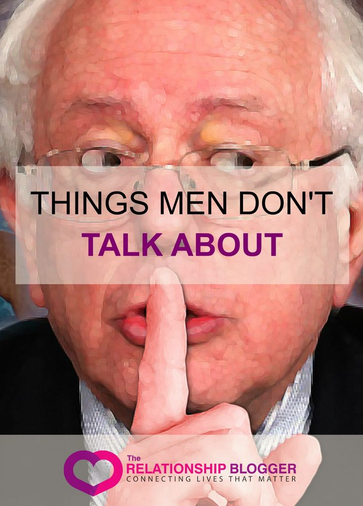 Things men dont talk about