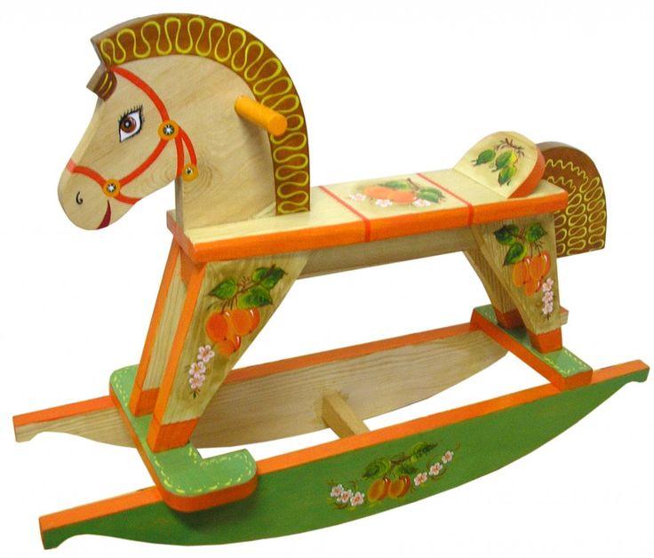 Картинки игрушка лошадка качалка