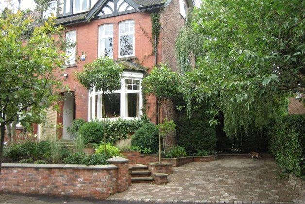 Victorian garden walls garden style pinterest for Victorian front garden designs
