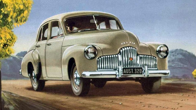 General Motors Holden, 1948, This car started the iconic, Australian motor vehicle industry in Australia. (Original Poster). v@e