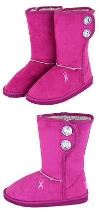 These are way to cute!  And when you buy these you fund 1% of a mammogram!  Which I know doesn't sound like much...but it is!  Considering how much a mammogram costs without insurance!  :)