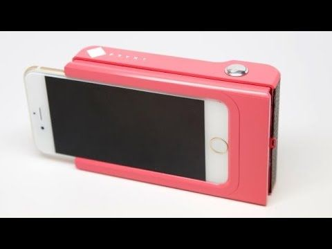 Something to watch out for. A smartphone case and a printer, in one!